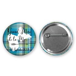 Badge 37mm pour vos invités - Choisissez votre couleur, créez votre badge unique