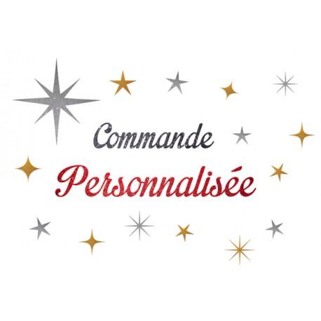 Commande Personnalisée Reservée Coralie