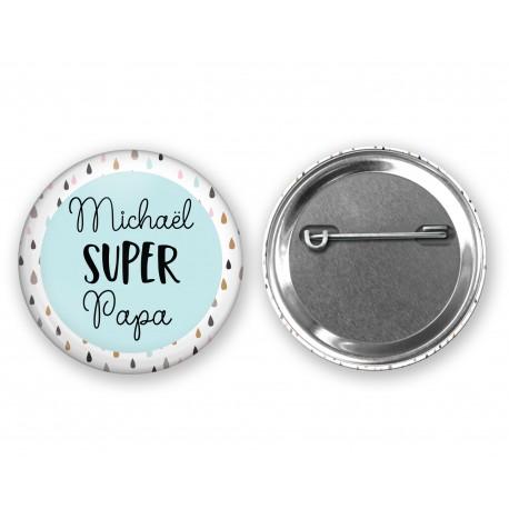 badge_super_papa_personnalisé_prenom_badge_cadeau_papa_personnalise