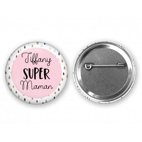 badge_super_maman_personnalisé_prénom_badge_cadeau_maman