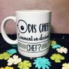 Mug Dis Chef... comment on devient chef? - Mug Humour