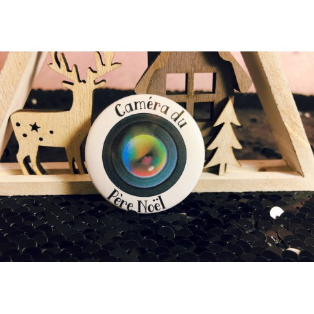 badge_santa_cam_camera_factice