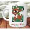 Mug Rennes Rudolph DAB - Mug cadeau de Noël