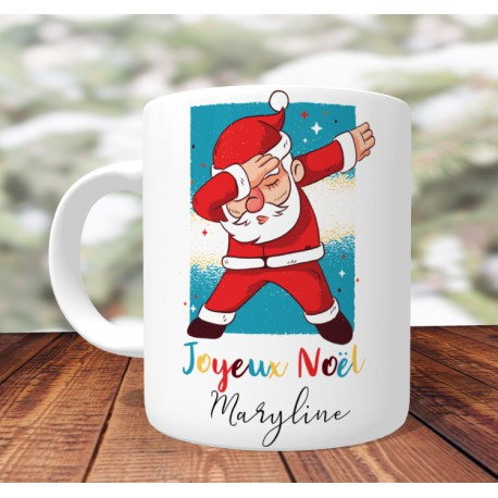 mug_personnalisé_humour_santa_dab_joyeux_noel_mug_personnalisé_noel