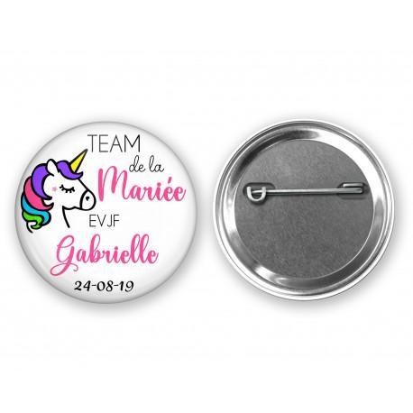 badge_personnalisé_team_de_la_mariée_cadeau_evjf