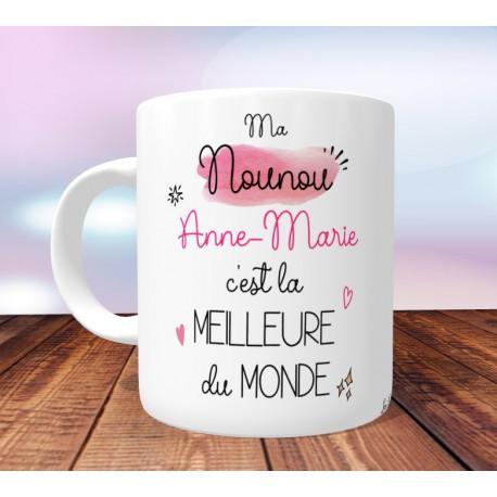 Cadeau Meilleure Mug Maternelle Du Personnalisable Monde Assistante Nounou vm8wy0ONn
