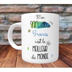 Mug Meilleur Tonton du monde - PERSONNALISABLE - Cadeau Naissance
