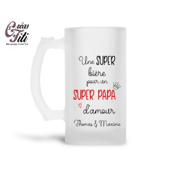 chope_biere_personnalisee_papa_verre_biere_personnalisé_cadeau_fete_des_peres