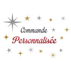 Commande Personnalisée Anne Laure