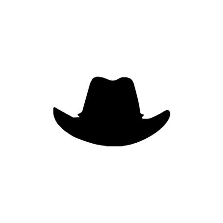 appliqué thermocollant chapeau cowboy